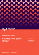 Cover image of MIGNEX Handbook Chapter 9 on the country-level policy review