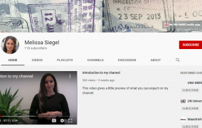 Melissa Siegel's Youtube channel.